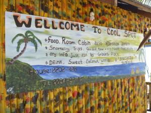 welcome to little corn island