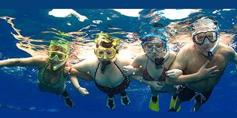 Graces place does snorkeling and other activities